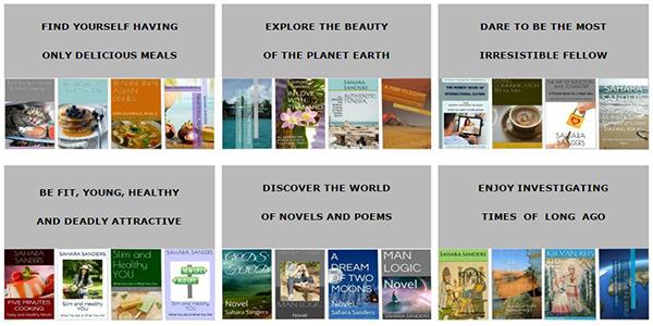 Sahara Sanders books