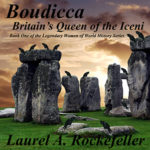Boudicca, Britain's Queen of the Iceni in audio edition narrated by Richard Mann. http://www.audible.com/pd/Kids/Boudicca-Britains-Queen-of-the-Iceni-Audiobook/B00NFXO172
