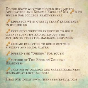 College Readiness Keys to Success