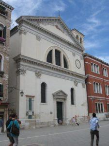 The churches of San Francesco di Paola, i Gesuiti, and Santa Maria Formosa.