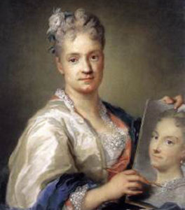 Rosalba Carriera's self-portrait