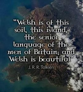 Tolkien about Welsh