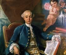 Portrait of Giacomo Casanova by Anton Mengs
